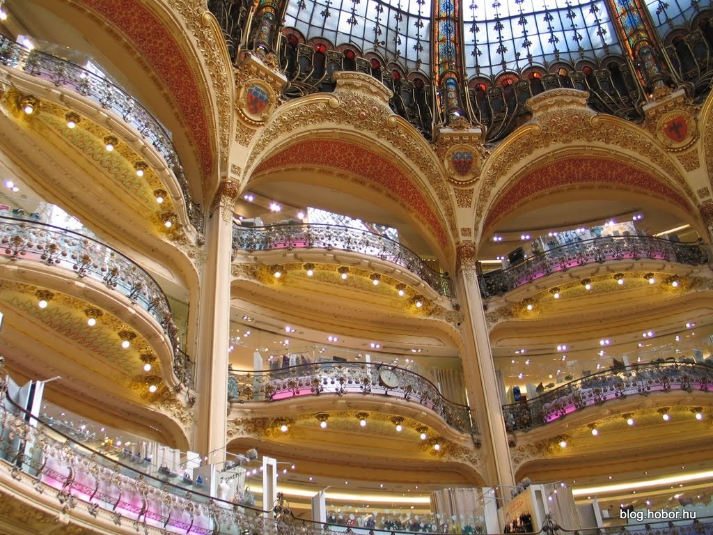 Galeries Lafayette, PARIS (France)