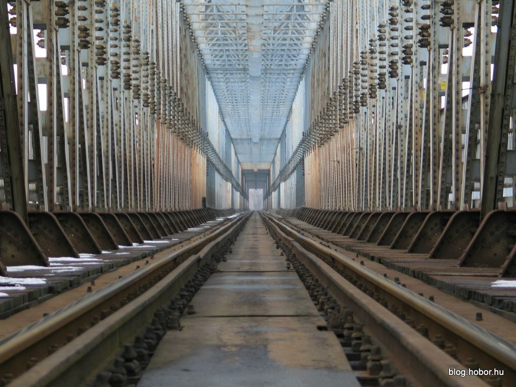 North Rail Bridge, BUDAPEST, Hungary