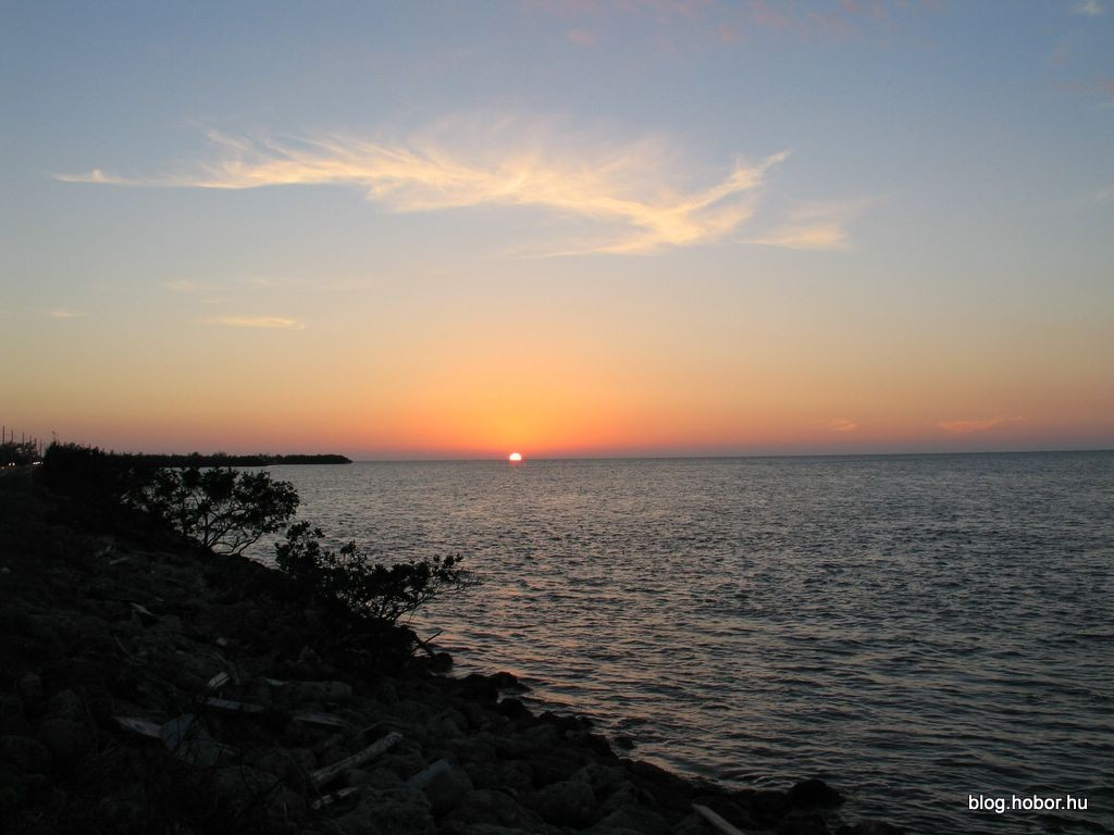 Sunset at FLORIDA KEYS (USA)